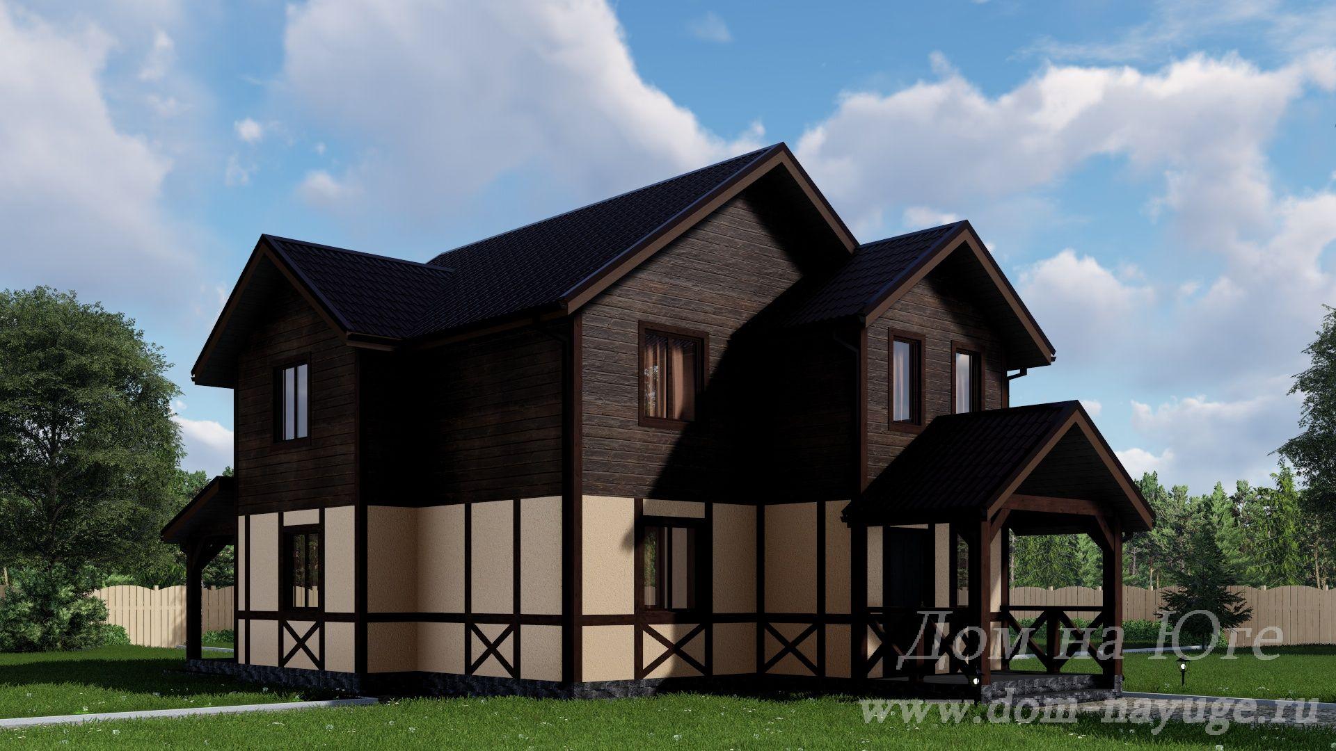 Каркасный дом. КБ-160-2