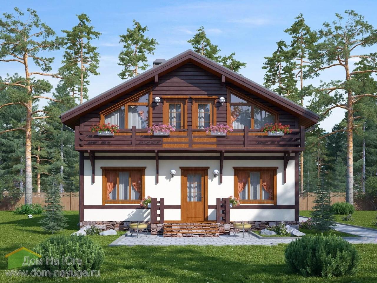 Каркасный дом. ФБ-144