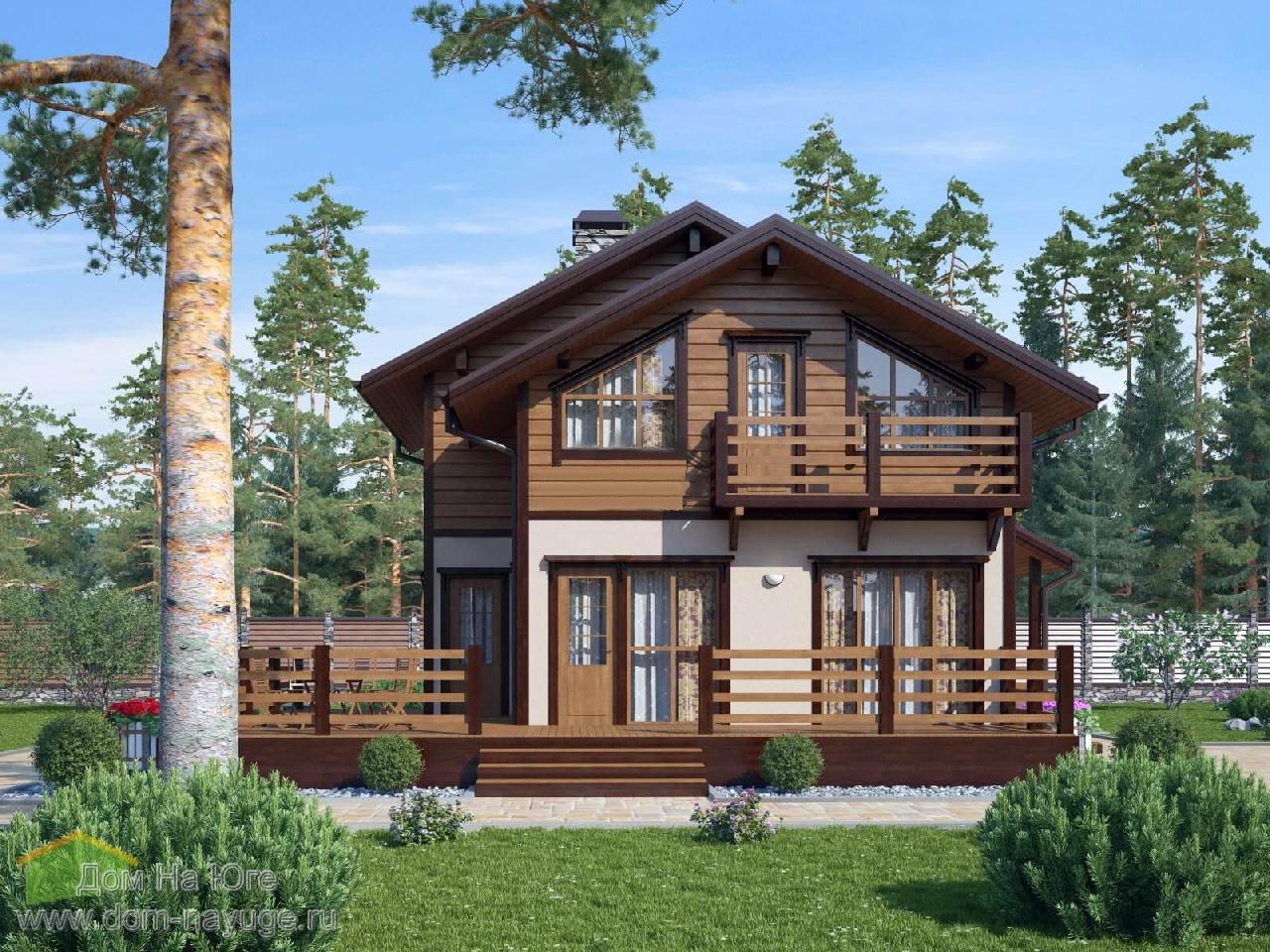 Каркасный дом. ФБ-128