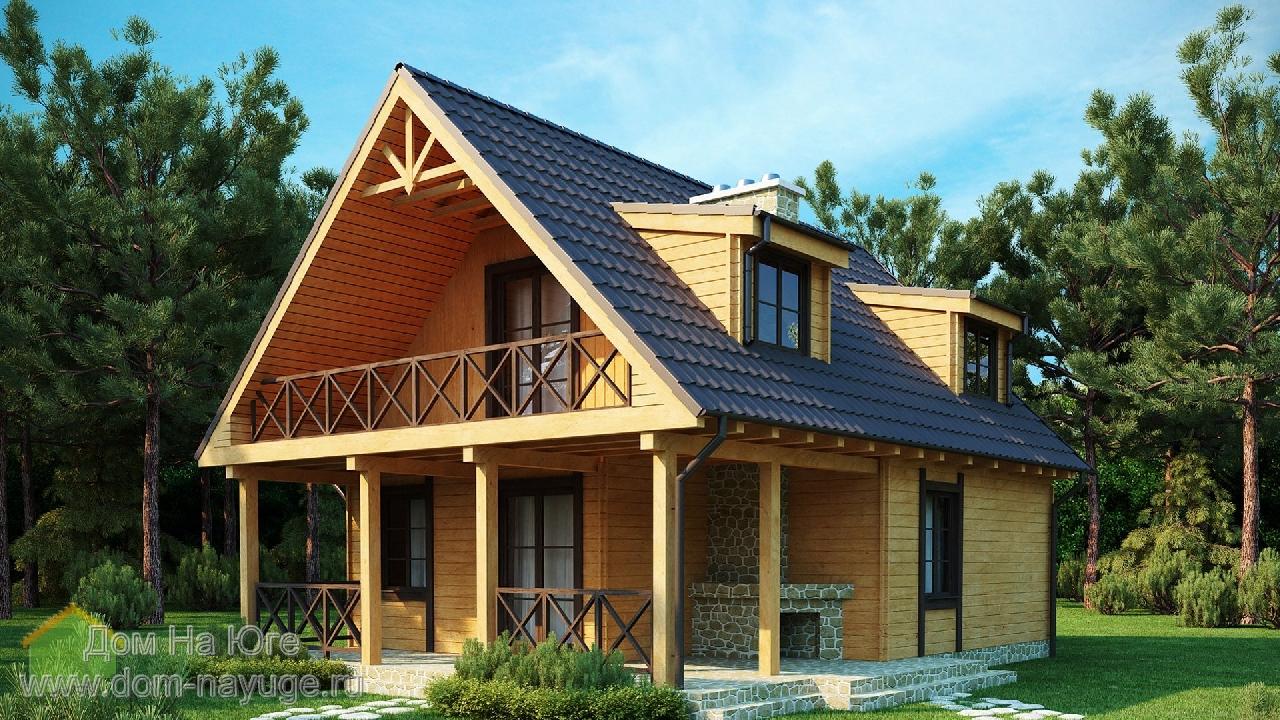 Каркасный дом. ИМ-4