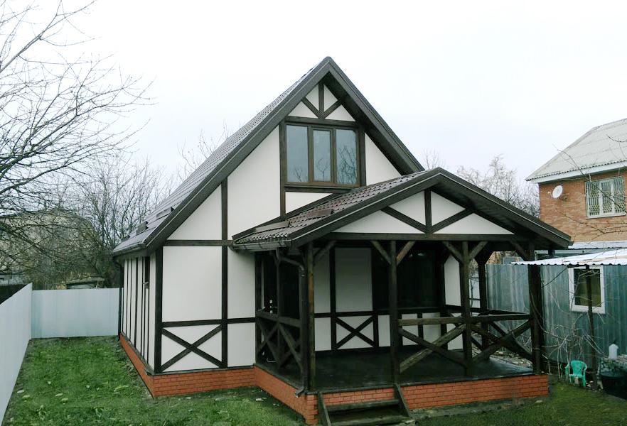каркасные дома в краснодарском крае фото есть то