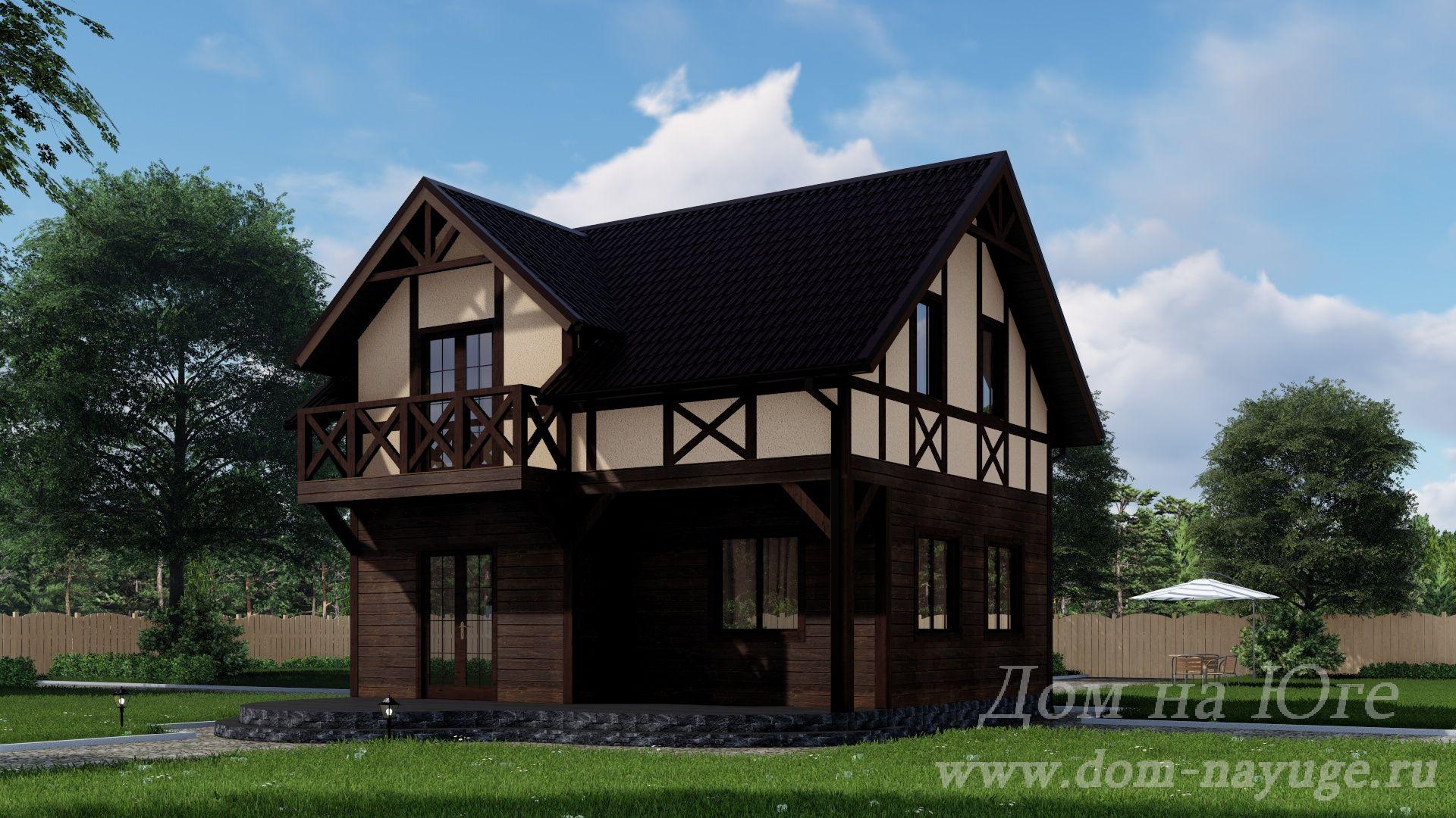 Каркасный дом. КБ-1