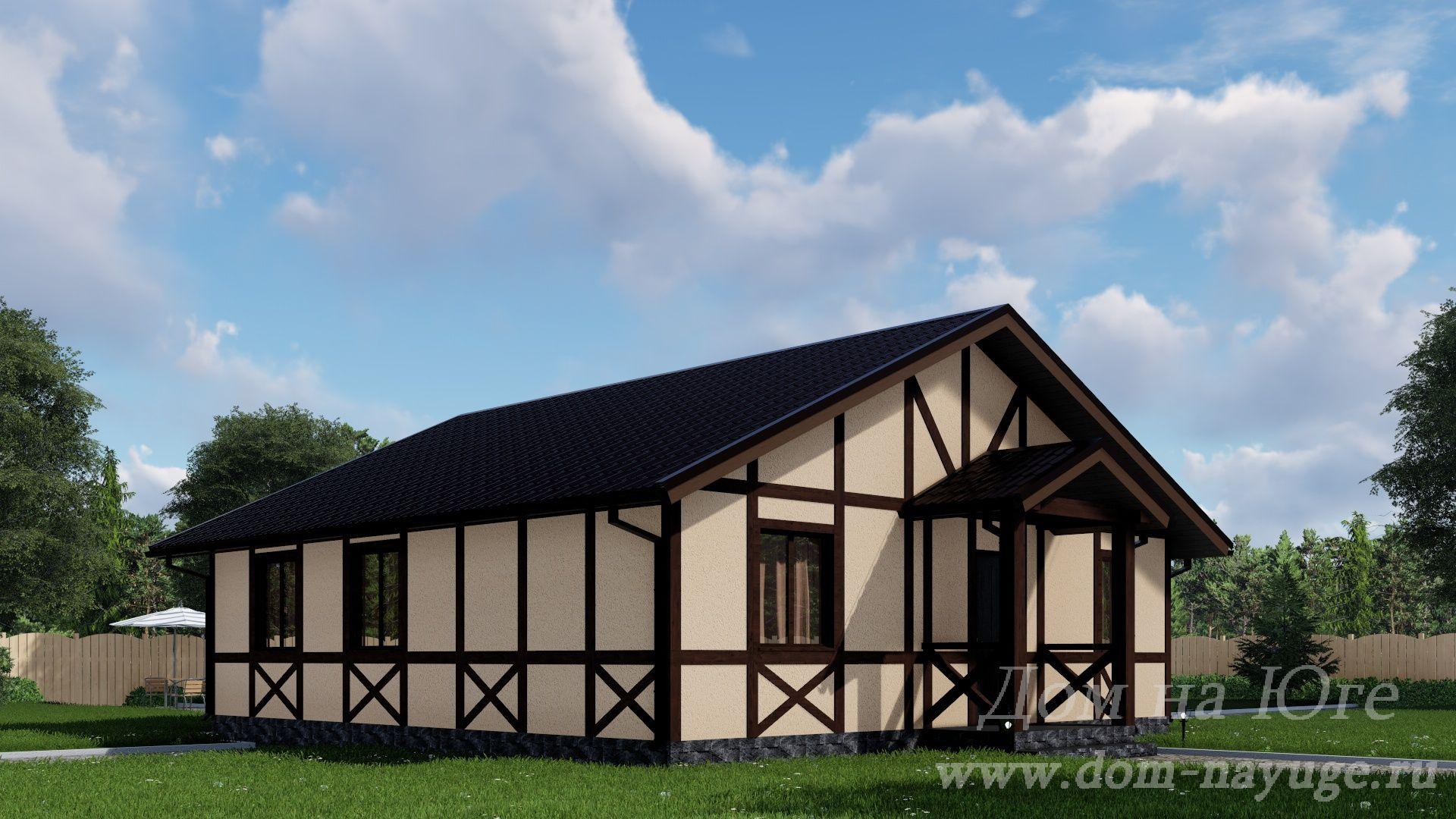 Каркасный дом. ФХ-1-95
