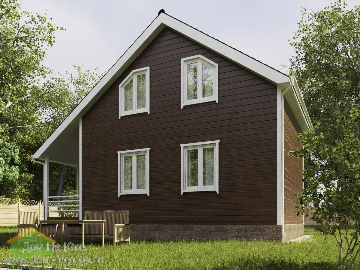 Каркасный дом. ФБ-96а