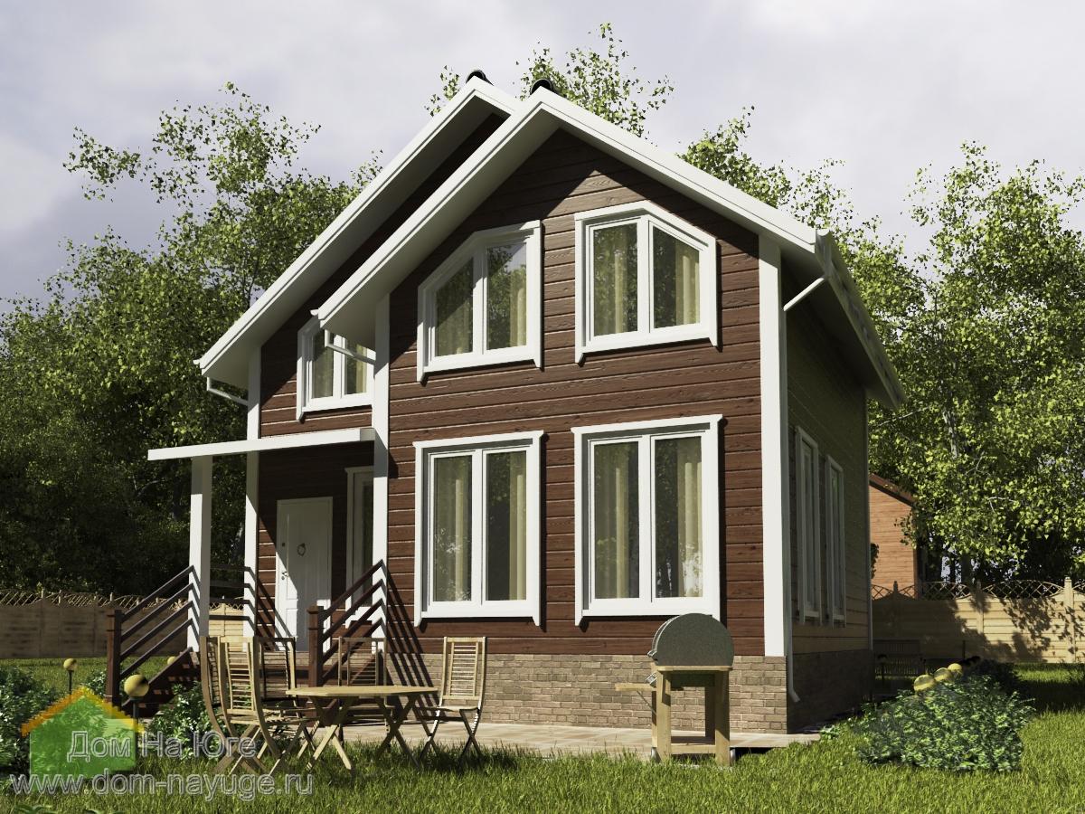 Каркасный дом. ФБ-115,2