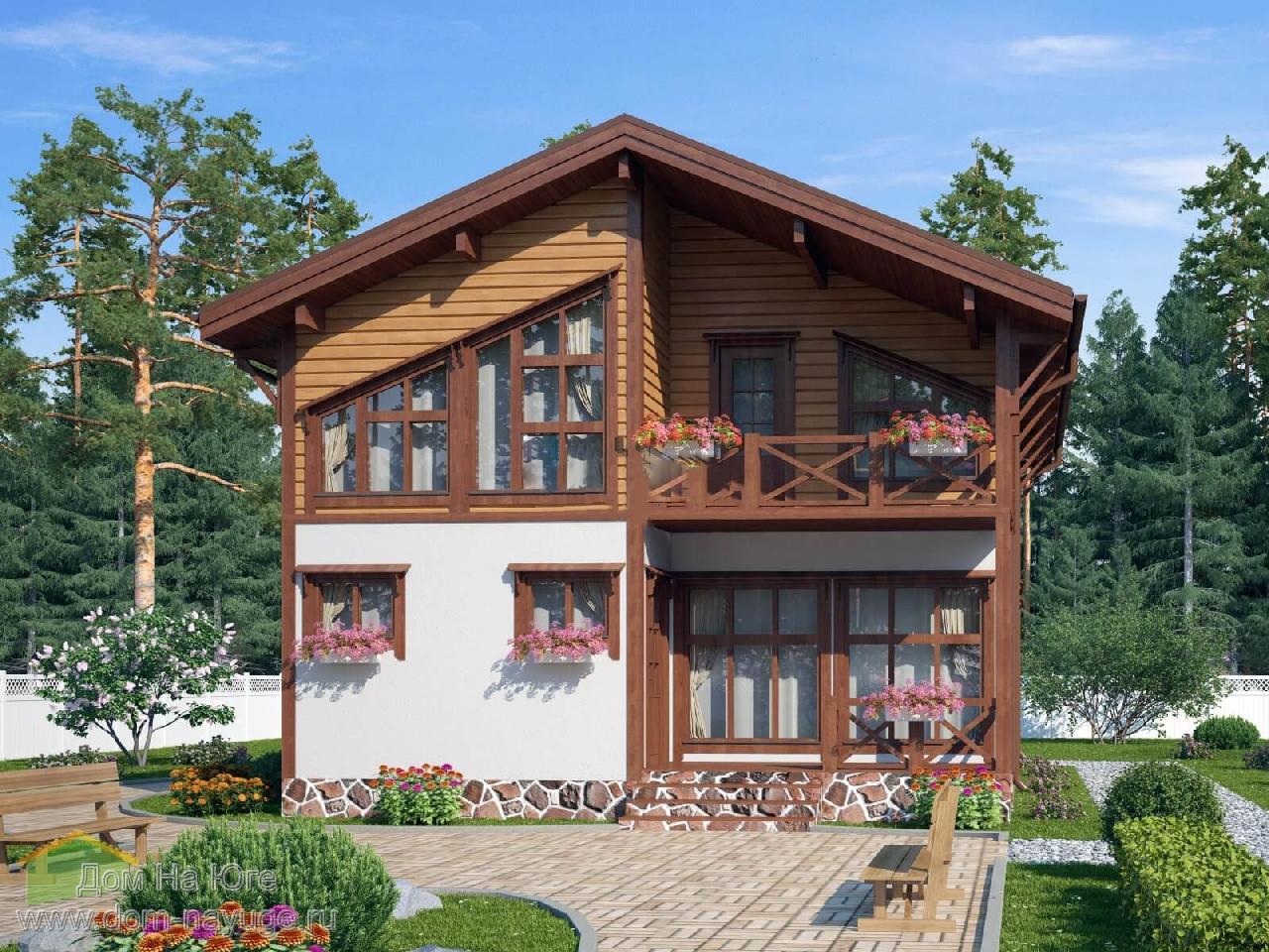 Каркасный дом. ИБ-160